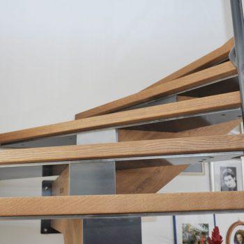 Mittelholmstiege Eiche lackiert Raum Hartberg Lieb Stiege